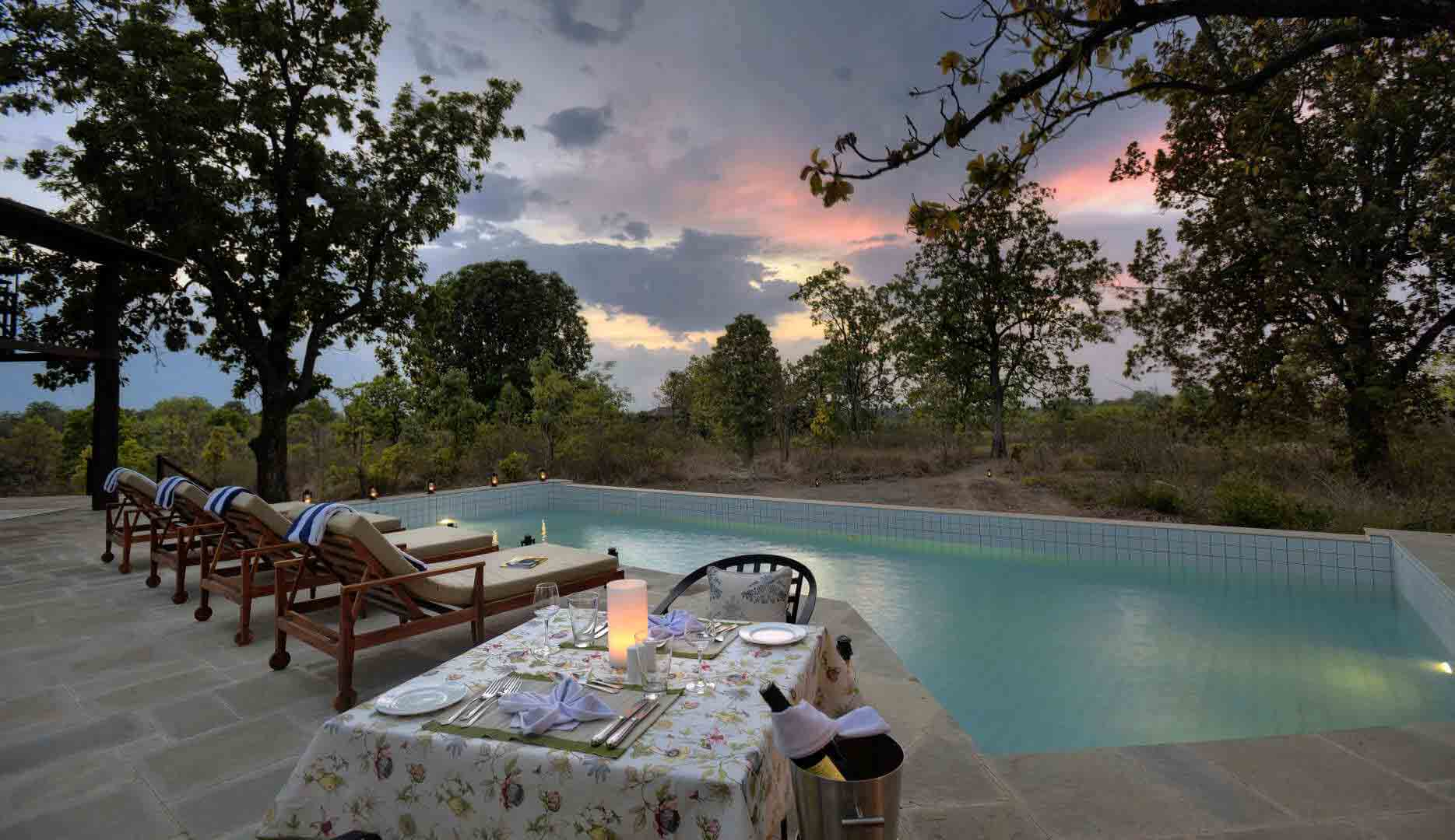 pench hotel booking